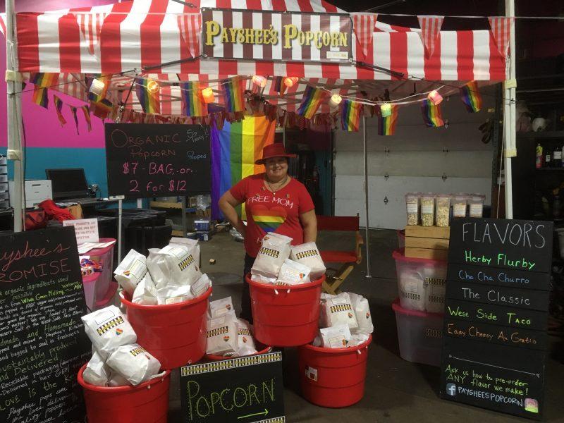 Payshee's Popcorn Business