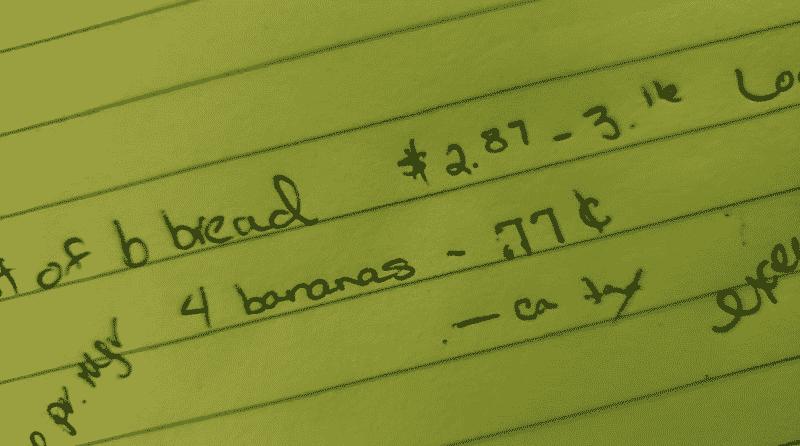 Home Baking - Banana Bread Calculations
